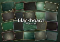 20 Blackboard Ps Brushes abr. Vol.6