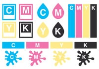 CMYK Brush Collection