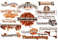 20 Thanksgiving PS Brushes abr. Vol.5