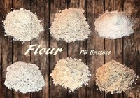 Flour Brushes