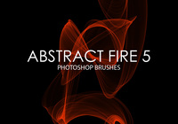 Free Abstract Fire Pinceles para Photoshop 5