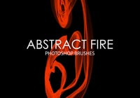 Free Abstract Fire Pinceles para Photoshop