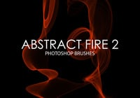 Free Abstract Fire Photoshop Brushes 2