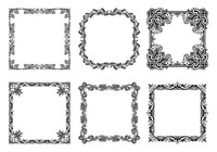 Beautiful Frame Brushes Collection