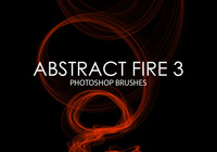 Gratis Abstract Fire Photoshop Borstar 3