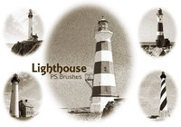 20 Lighthouse PS Brushes abr.Vol.3