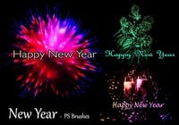 20 New Year PS Brushes abr. Vol.6