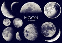 20 Moon Ps Brushes abr vol.6