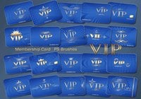 20 Vip Card PS Pinceles abr. Vol.4