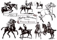 20 Riding Adventure PS Brushes abr. Vol.11