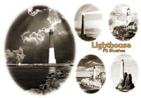 20 Lighthouse PS Brushes abr.Vol.4