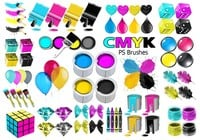 20 Cmyk PS Pinceles abr.Vol.13