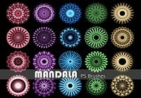 20 Mandala PS Brushes abr. Vol.13