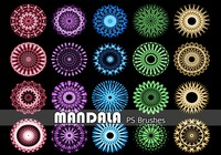 20 Mandala PS Pinceles abr. Vol.13