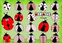 20 Ladybug PS Brushes abr.Vol.6