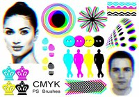 20 Cmyk PS Brushes abr.Vol.14