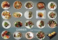 20 Dinner Food PS Brushes.abr vol.7