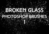 Broken Glass Brushes 1