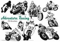 20 Motorcycle Racing Avontuur PS Borstels abr. Vol.13