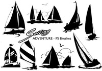 20 Sailing Adventure PS Brushes abr. Vol.12