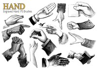 20 Hand PS Brushes abr.Vol.9