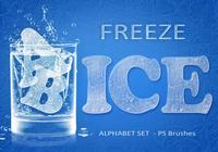 26 Freeze Ice Letters PS Bürsten abr. Vol. 7