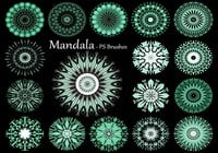 20 Mandala PS Pensels abr. Vol.12