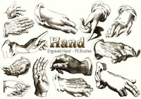 20 Hand PS Brushes abr.Vol.10