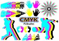 20 Cmyk PS Pinceles abr.Vol.10