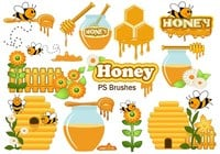 20 Cute Honey PS Pinceles abr. Vol.8