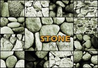 20 Stone Wall PS Brushes abr. Vol.3