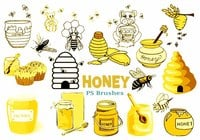 20 Honey PS Brushes abr. vol.5