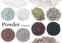 20 Powder PS Brushes.abr Vol.5
