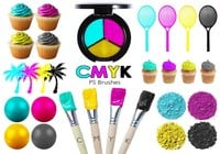 20 Cmyk PS Brushes abr.Vol.8