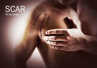 20 Scar PS Brushes abr.Vol.5
