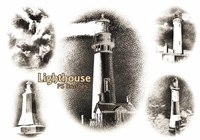 20 Lighthouse PS Brushes abr.Vol.6