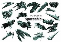 20 Spaceship PS Brushes abr. vol.6