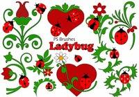 20 Ladybug PS Brushes abr.Vol.7