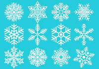 Snowflake Brushes Collection