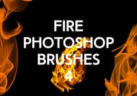 Fire Photoshop Brushes 4