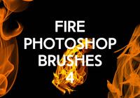 Fire Photoshop borstar 4