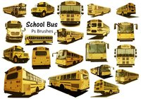 20 School Bus Ps Brushes abr. Vol.7