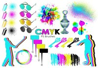 20 Cmyk PS Brushes abr.Vol.16