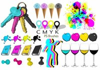 20 Cmyk PS Brushes abr.Vol.15