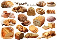 20 Bread PS Brushes.abr Vol.7