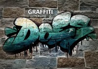 20 Graffiti PS Brushes abr. Vol.17