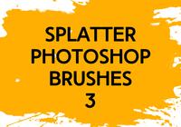 Splatter Photoshop Brushes 3