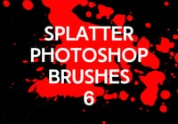 Splatter Photoshop Borstels 6