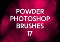 Poudre Photoshop Brushes 17