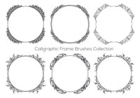 Beautful Calligraphic Frame Brush Collection